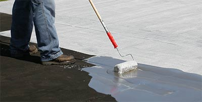 Commercial Roofing Liquid Applied