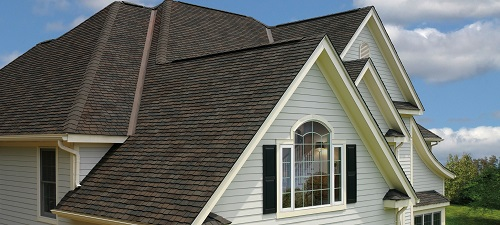 Dusky Gray Asphalt Shingle